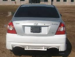 rear bumper hyundai elantra shop for hyundai elantra rear bumper on bodykits com
