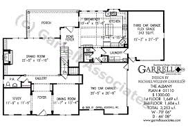 Foyer Plans Albany House Plan House Plans By Garrell Associates Inc