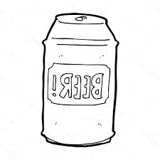 beer cartoon black and white best hd cartoon beer can cdr