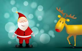 santa claus and reindeer wallpapers santa claus and reindeer