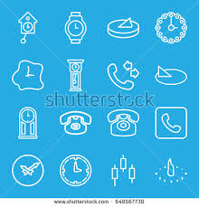 dial icons 25 dial stock vector 679841356 shutterstock