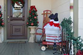 Christmas Decorated Homes Inside by Unique Front Porch Rocking Chairs Image Of Idolza
