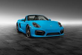 custom porsche boxster porsche boxster in riviera blue is as cool as a summer breeze