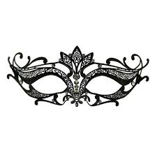 masquerade masks for prom metal venetian crown top mask