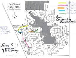 World Of Work Map by Cwl Asphalt Resurfacing U2013 Candlewick Lake Association