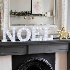white light up letters white light up christmas letters by letteroom notonthehighstreet com