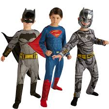 rubies childs dawn of justice classic superman or armoured batman