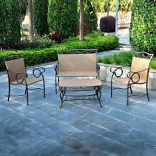 Patio Furniture Without Cushions 59 Best Patio Sets Images On Pinterest Outdoor Spaces Patio