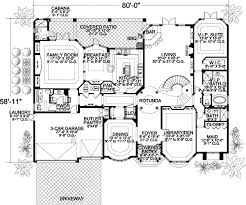 7 bedroom house plans florida house plan 7 bedrooms 7 bath 6412 sq ft plan 37 189