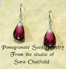 original earrings pomegranate earrings chatfield glass online store powered