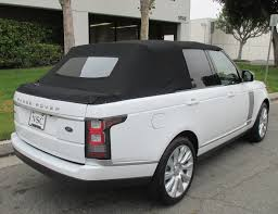 land rover vogue sport range rover convertible