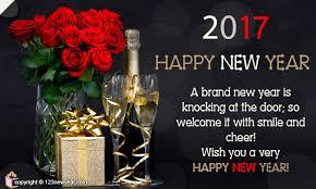 welcome new year with smile new year greeting cards 2017
