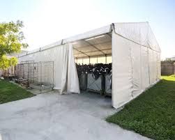 veranda cer usata clear span tent coprifacile