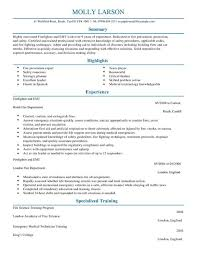 Paramedic Resume Sample Wp Livecareer Co Uk Wp Content Uploads 2014 06 Fir