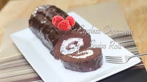 eggless swiss roll video recipe by bhavnas fix cake disasters