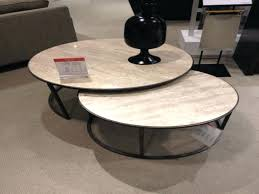 round nesting coffee table nested coffee table furniture round nesting coffee table elegant s