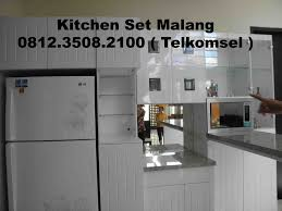 Daftar Harga Kitchen Set Minimalis Murah Kitchen Set Kota Malang Furniture Furniture Minimalis