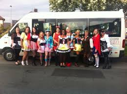 nights out minibus hire warrington hen party transport