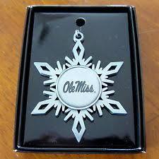ole miss rebels ncaa ornaments ebay