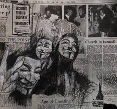 Plus Ca Change Plus La Meme Chose - occupy comics recruits the man who gave them a face v s david