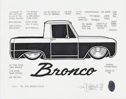 ford bronco 2017 mike giant 66 ford bronco pickup 2017 available for sale artsy
