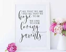 quotes wedding day parents wedding gift for parents wedding parent gifts for