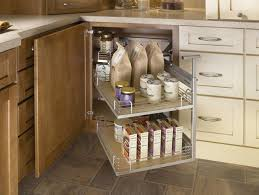 kitchen blind corner cabinet organizer