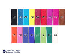 where to buy crepe paper sheets colour crepe paper paper malaysia heong giap paper