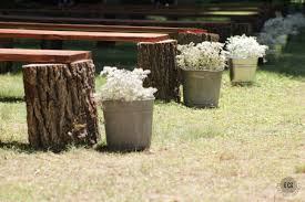 diy wedding seating rustic log benches ec2blog