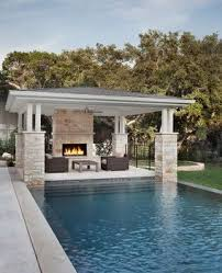Like Integration With Pool Like Style And Colors How Links With - Pool backyard design