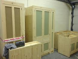 handmade solid wood larder unit freestanding kitchen units kitchen