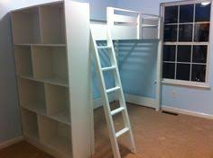 Build A Loft Bed With Storage by Bunk Bed Ladder Brackets Ladder For The Ladder Cut Two 2x4s 64