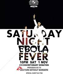 halloween party borders london club to host u0027saturday night ebola fever u0027 halloween party