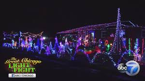 holiday light displays near me plainfield holiday lights display glows bright abc7chicago com
