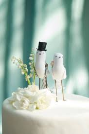 in cake toppers birds oh so sweet wedding cake toppers chic vintage brides