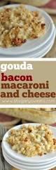 gouda bacon macaroni and cheese shugary sweets