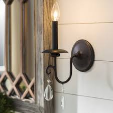 Farmhouse Wall Sconce Cottage U0026 Country Sconces You U0027ll Love Wayfair