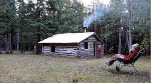 gorgeous little 200sqft cabin built by father u0026 son off grid world