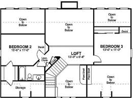 plain simple house floor plans with dimensions two story