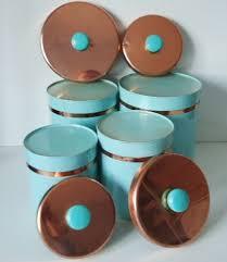 copper kitchen canister sets 1272 best canister sets images on vintage kitchen