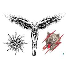 yeeech temporary tattoos sticker for 3d protector