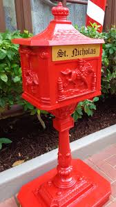 letters to santa mailbox meeting princess elly and caroline s magical moments