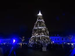 Singing Christmas Tree Lights Christmas Tree In Christmas Town The Nerdy Me