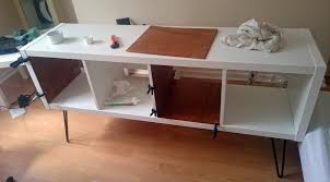 Ikea Hackers by Ikea Kallax Sideboard Hack Ikea Hackers