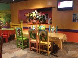 Mexican Chairs Brightly Colored Painted Chairs Picture Of Jose U0027s Mexican Grill