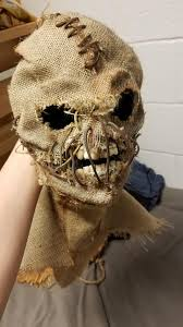 Scarecrow Mask My Scarecrow Mask Is Finished Album On Imgur