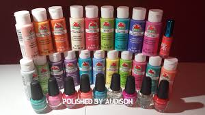 polished by audison walmart haul la colors u0026 acrylic paint