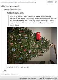 christmas tree taking a selfie funny pinterest christmas