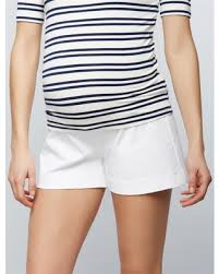 maternity shorts new shopping special secret fit belly tailored maternity shorts