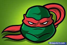 draw ninja turtle easy step step cartoons cartoons